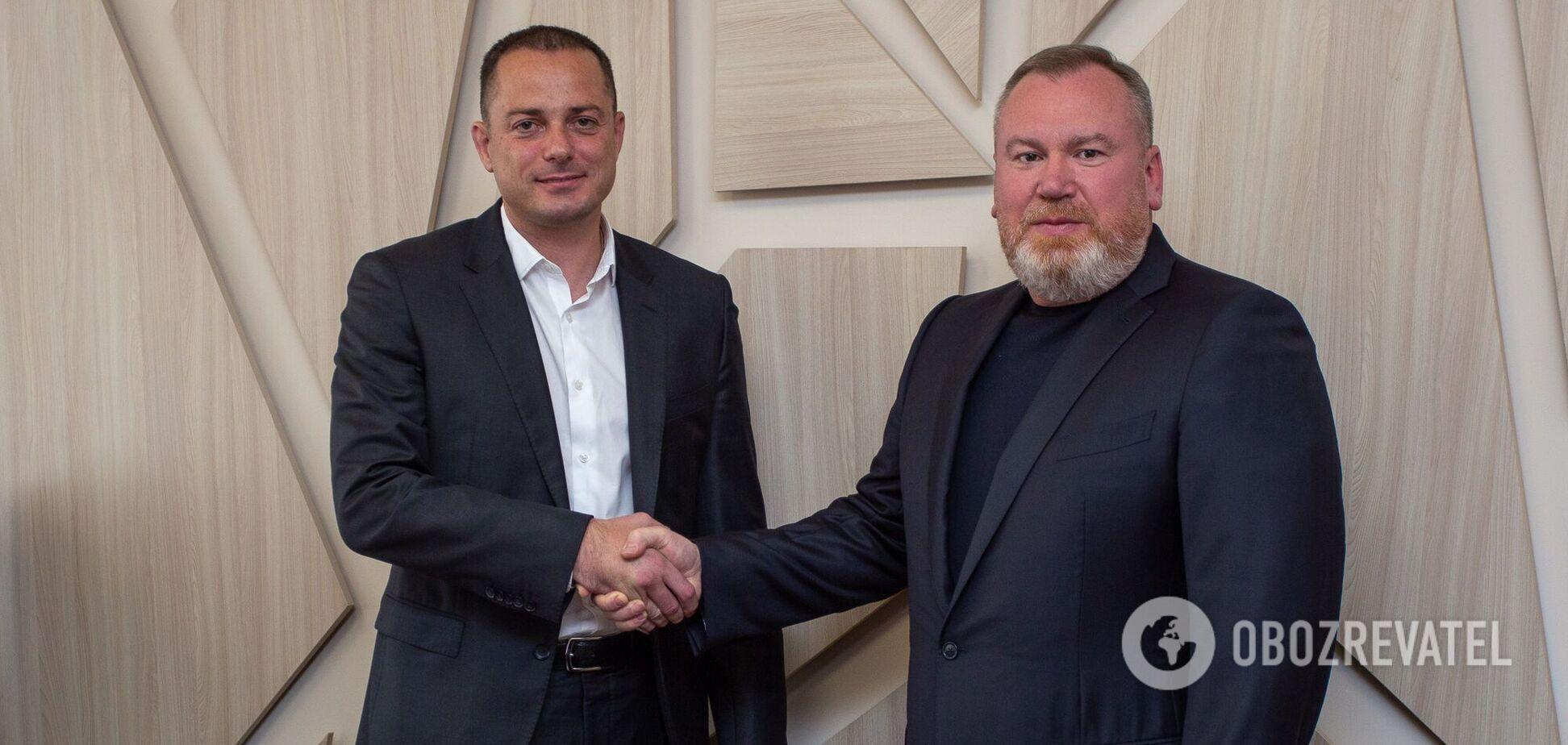 Андрей Белоусов поддержал партию 'Пропозиция' в областной совет