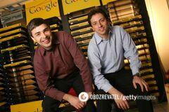 В 1998 году Google основали Ларри Пейдж и Сергей Брин