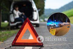 На Киевщине мотороллер и ВАЗ попали в ДТП, пострадали двое парней
