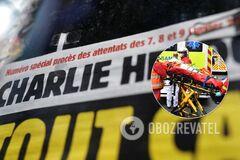В Париже неизвестный с ножом напал на людей: есть раненые. Видео
