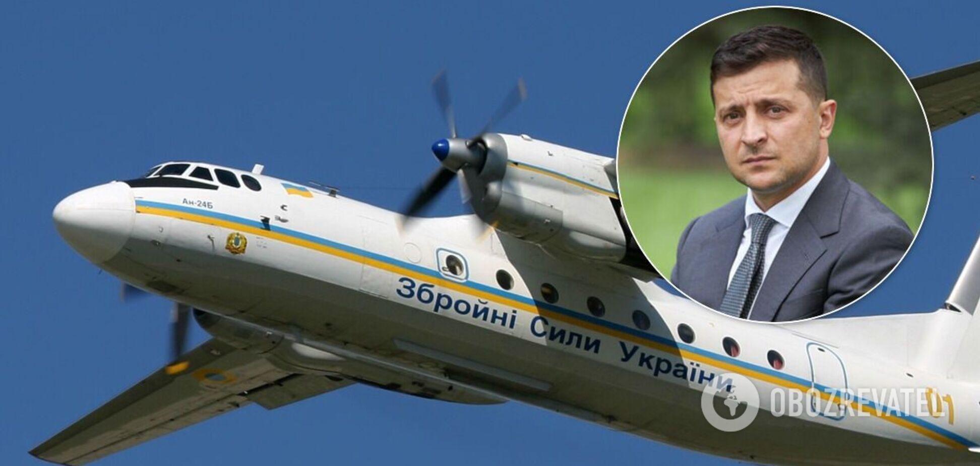 Зеленський відреагував на трагедію з Ан-26 у Чугуєві.
