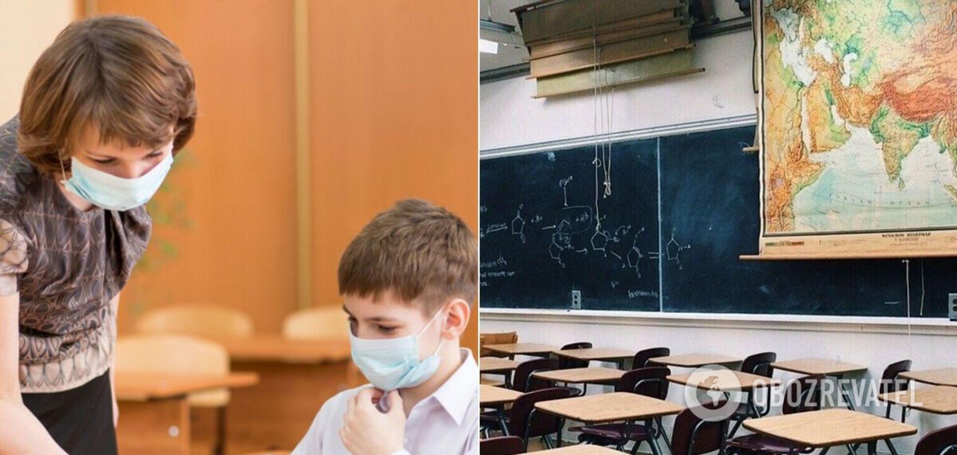 Школы в Украине раньше ушли на осенние каникулы