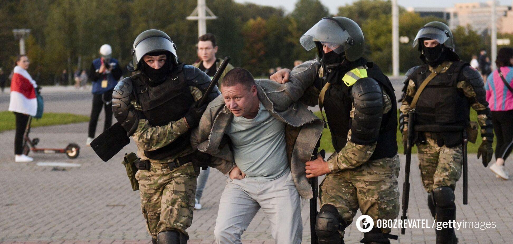 Протести Білорусь