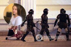 Белоруска потеряла ребенка после избиения в РУВД