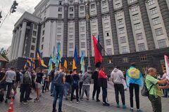 Пікет студентів Олімпійського коледжу під Кабміном