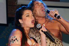 Тарзан и Наташа Королева вместе выступили на сцене