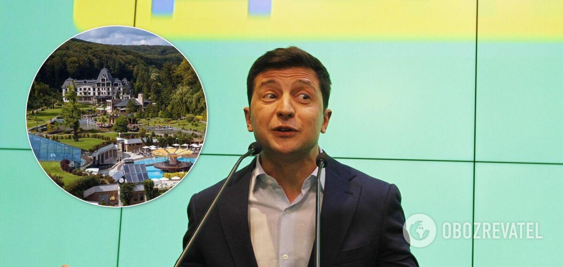 Зеленский остановился в люксовом отеле на Закарпатье. Фото и цена номера