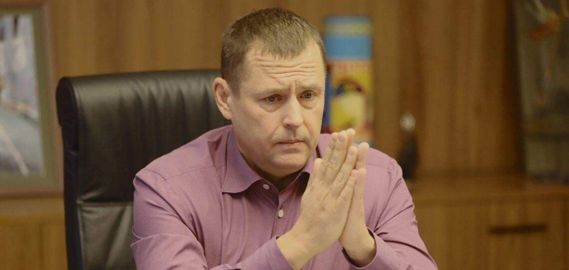 Філатов звинуватив Яценка в знятті мера Умані з виборів