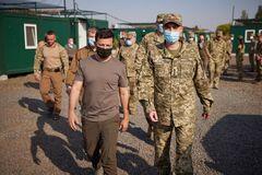 Владимир Зеленский посетил Донецкую область
