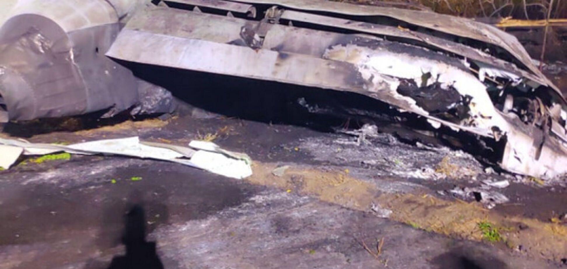 Місце катастрофи Ан-26