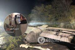Катастрофа АН-26: з'явилися перші кадри з карети швидкої допомоги