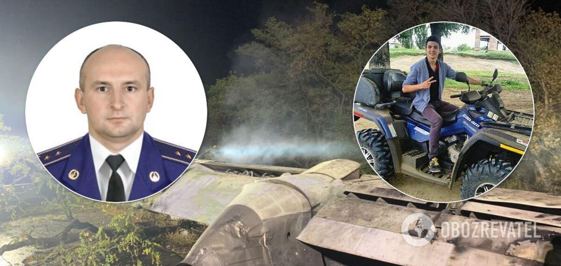 Курсант Олександр Скочков загинув в авіакатастрофі через 6 років після смерті батька