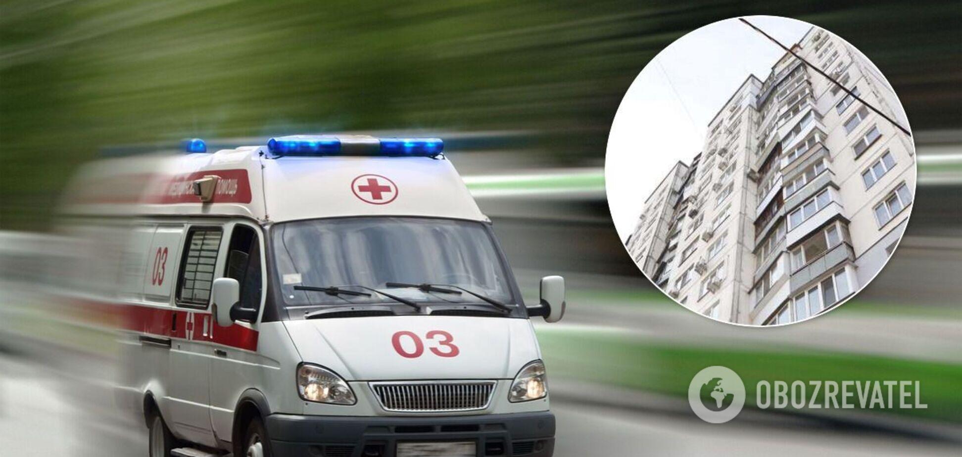 У Дніпрі 13-річна дівчинка впала в кому після падіння з багатоповерхівки. Фото