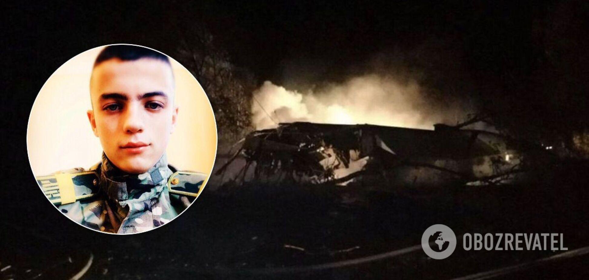 В авіакатастрофі загинув Віталій Вільховий