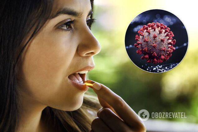 Вітамін D може знизити ризик смерті від коронавірусу