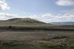 В Крыму пересох ставок в Белогорском районе. Фото: Крым.Реалии