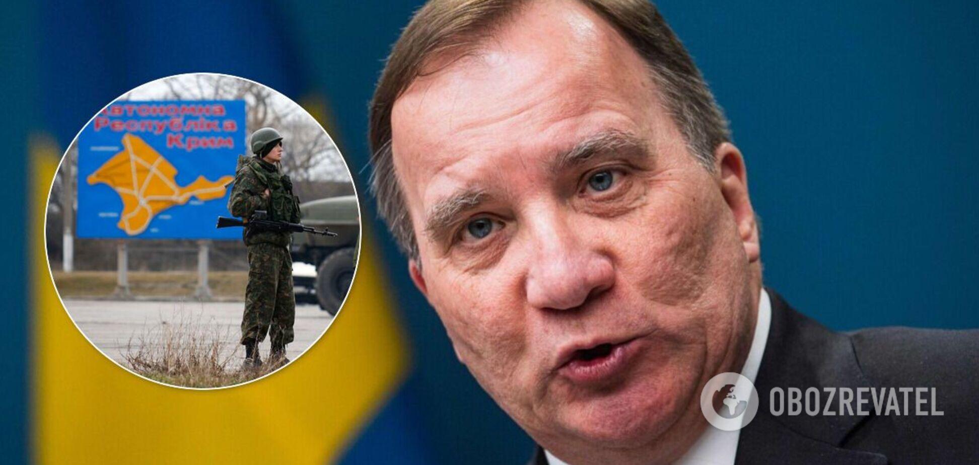 Прем'єр-міністр Швеції Стефан Левен