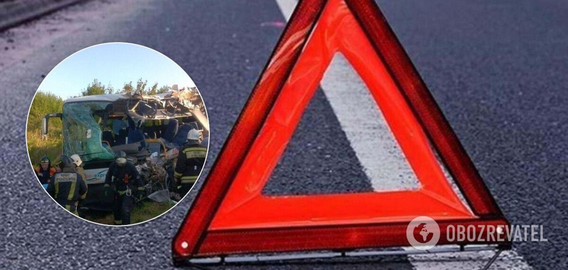 Семеро людей загинули в ДТП за участю автобуса під Калінінградом