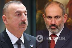 Лидеры Азербайджана и Армении выступили с заявлениями о боях в Карабахе