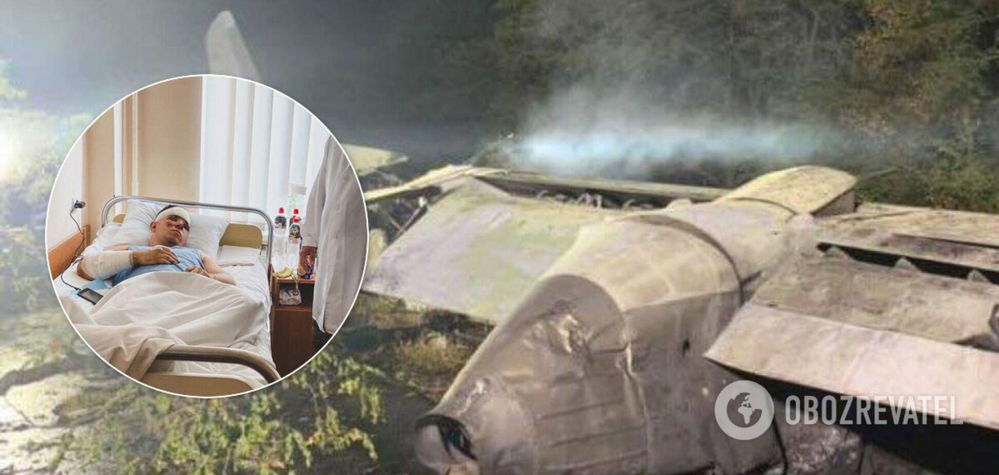 Повідомили подробиці про стан курсанта, який вижив у катастрофі Ан-26