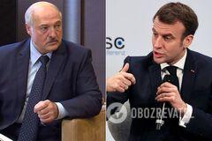 Лукашенко назвал Макрона незрелым политиком и припугнул проблемой с женой