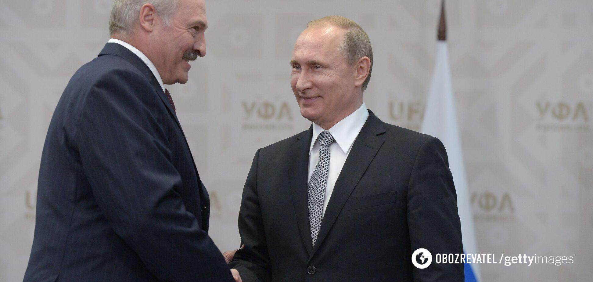 Ворон ворону..., или Влияние Путина на Лукашенко