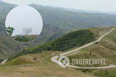 Бой в Нагорном Карабахе