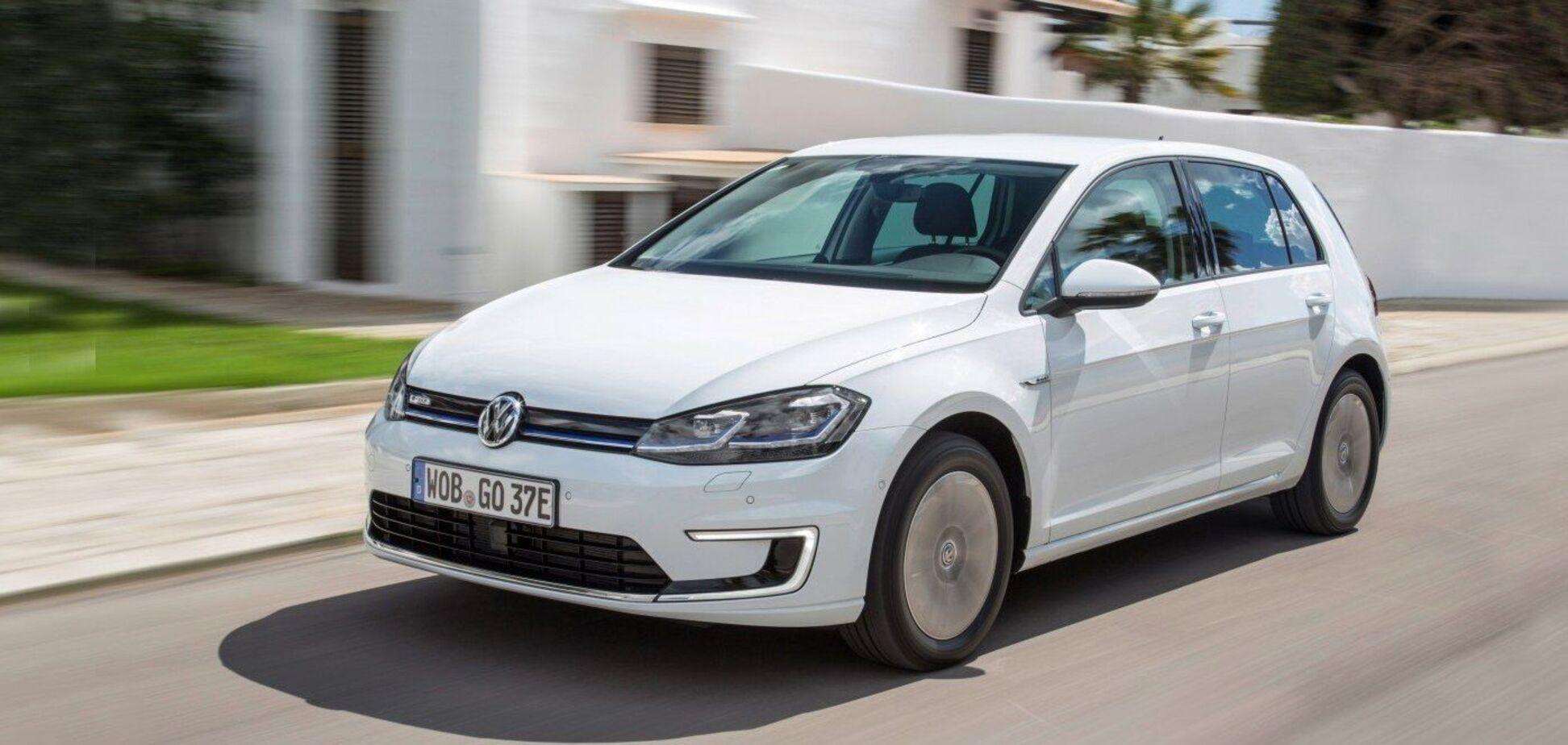Дизельный VW Golf оказался экономнее электрического 'Гольфа'
