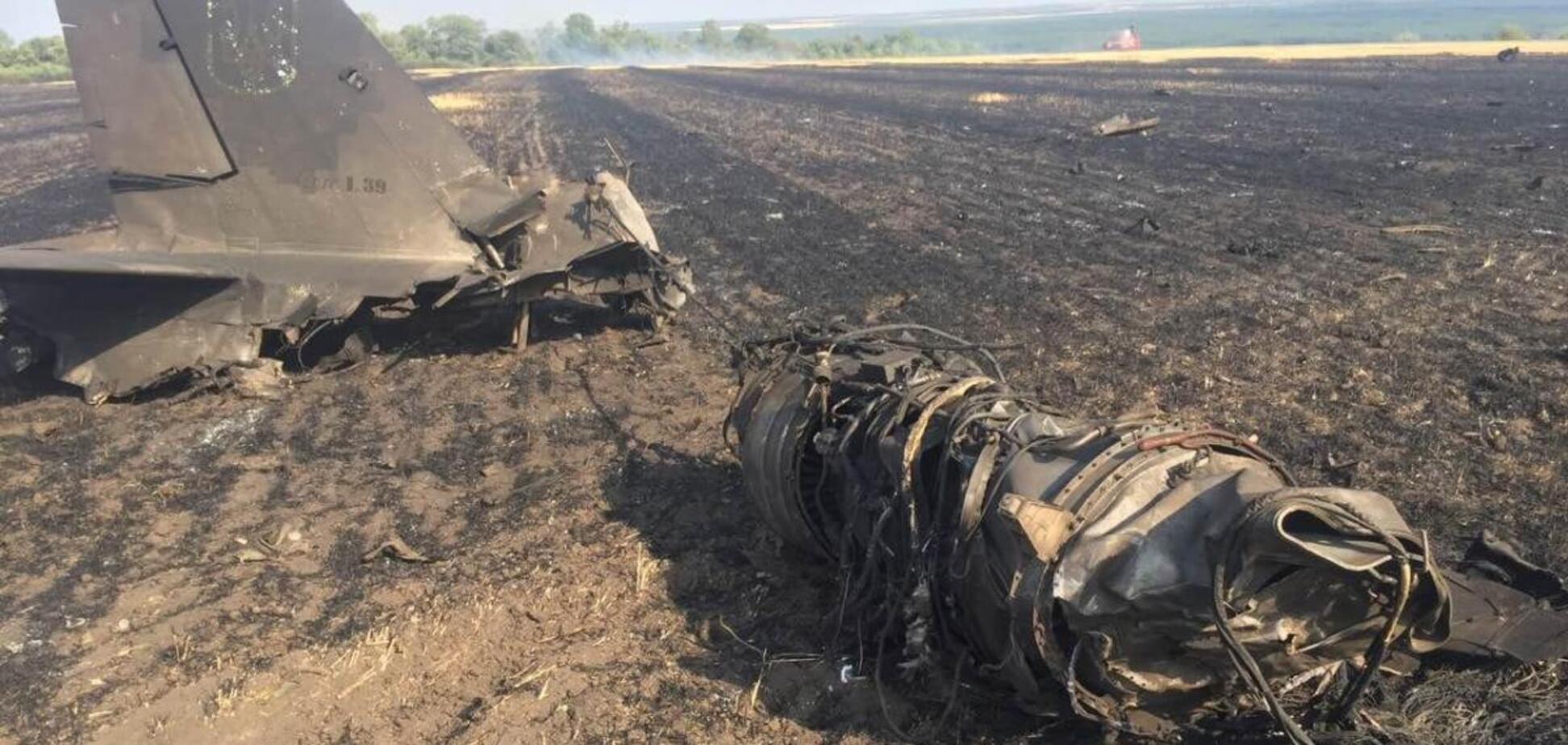У липні 2019 року розбився військовий літак під керуванням курсанта