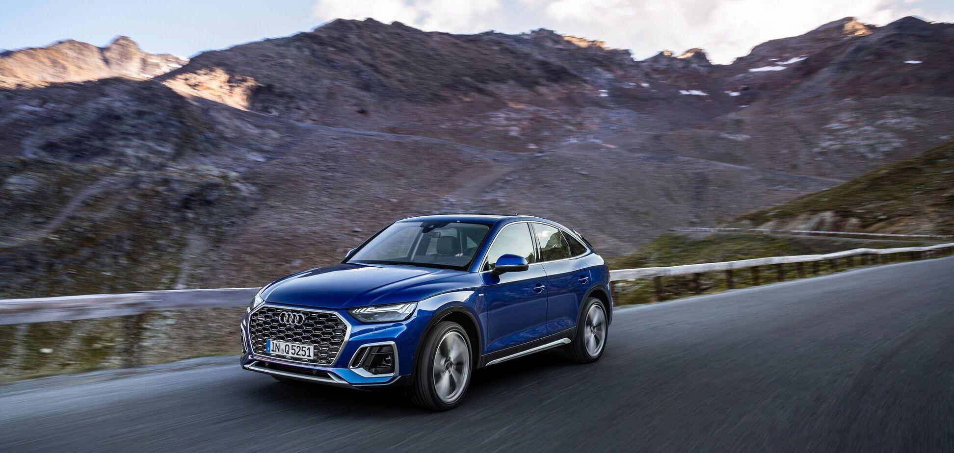 Audi розширює асортимент купеобразних кросоверів