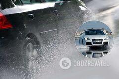 Как правильно ездить на автомобиле в дождь: главные советы