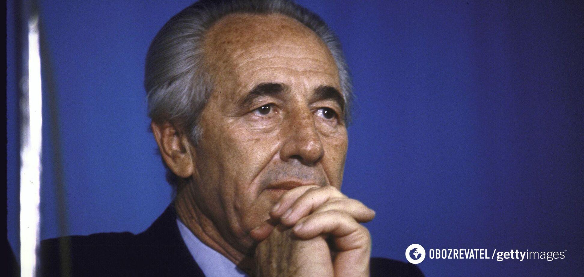 Шимон Перес избирался в Кнессет непрерывно с 1959 по 2007 год