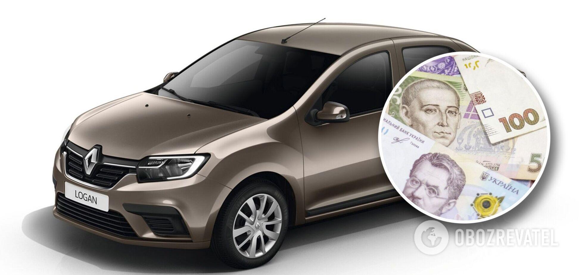 Цены на б/у Renault Logan в Украине очень разные