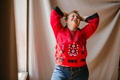 Мирослава Павлик стала лицом бренда украинских вышиванок