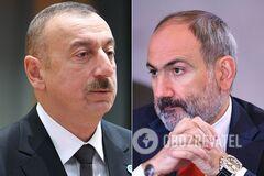 Алиев и Пашинян сделали заявления о сбитом Су-25