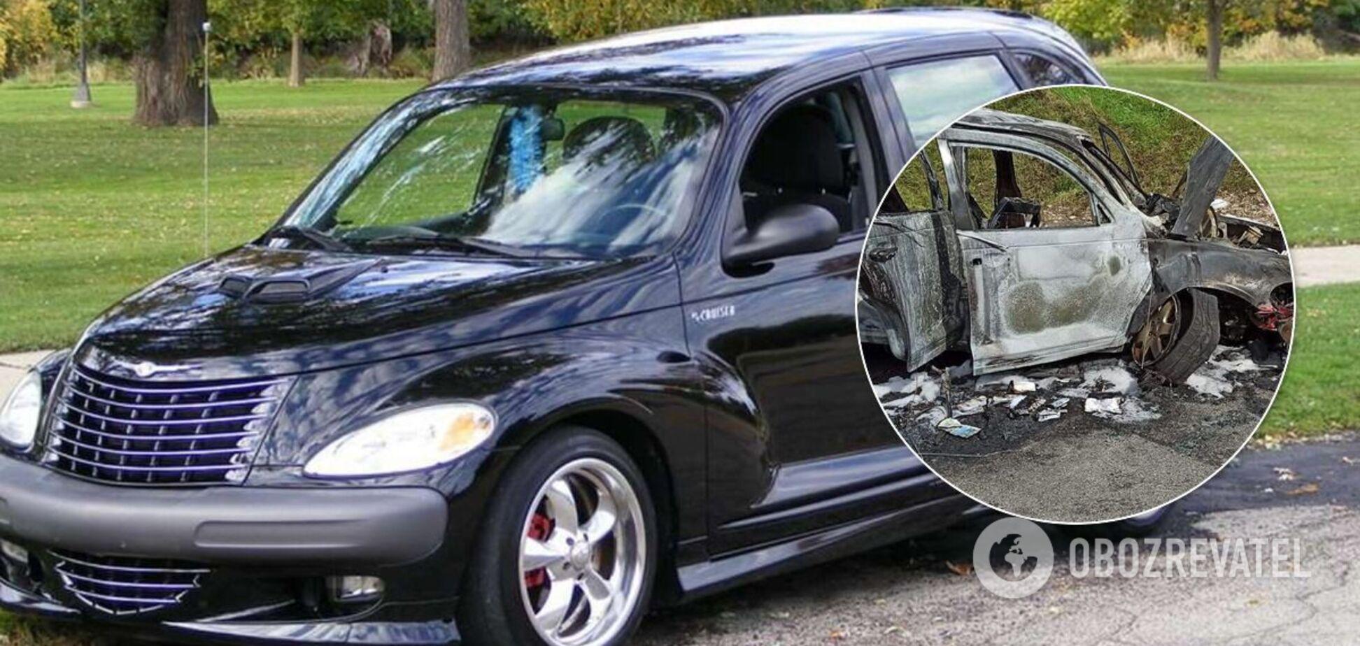 У Польщі автомобіль Chrysler Cruiser з українцями загорівся після ДТП