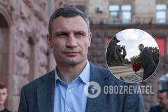 Кличко вшанував пам'ять жертв Бабиного Яру та пообіцяв створити Меморіал. Фото