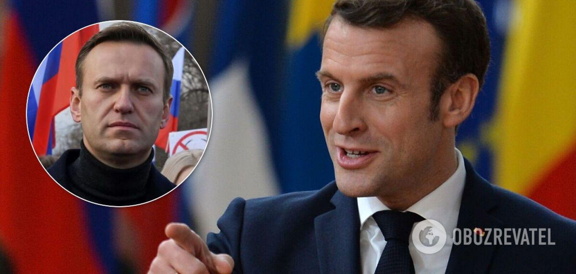 Макрон заявив про співпрацю з РФ заради миру в Європі