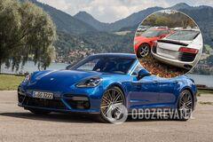 Обнаружена свалка с почти новыми Audi, Bentley и Porsche