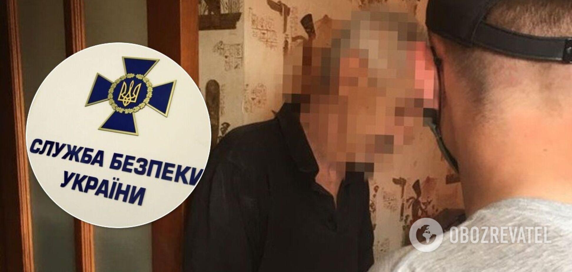 Затримано терориста, який захоплював будівлю СБУ в Луганську. Фото