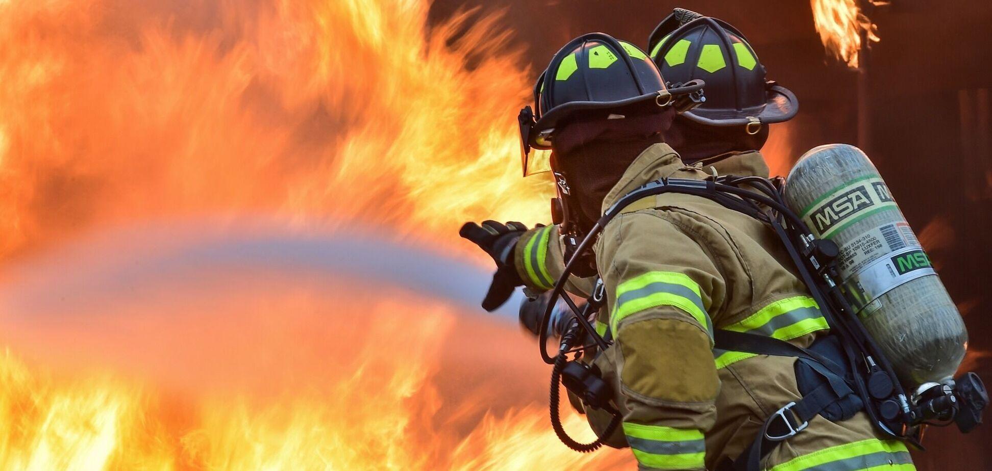 На Дніпропетровщині жінка загинула під час пожежі у власному будинку. Фото з місця НП