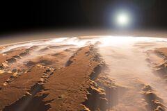 На Марсе нашли подземные озера с водой