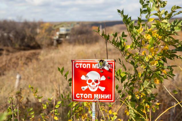 Російський офіцер підірвався на Донбасі