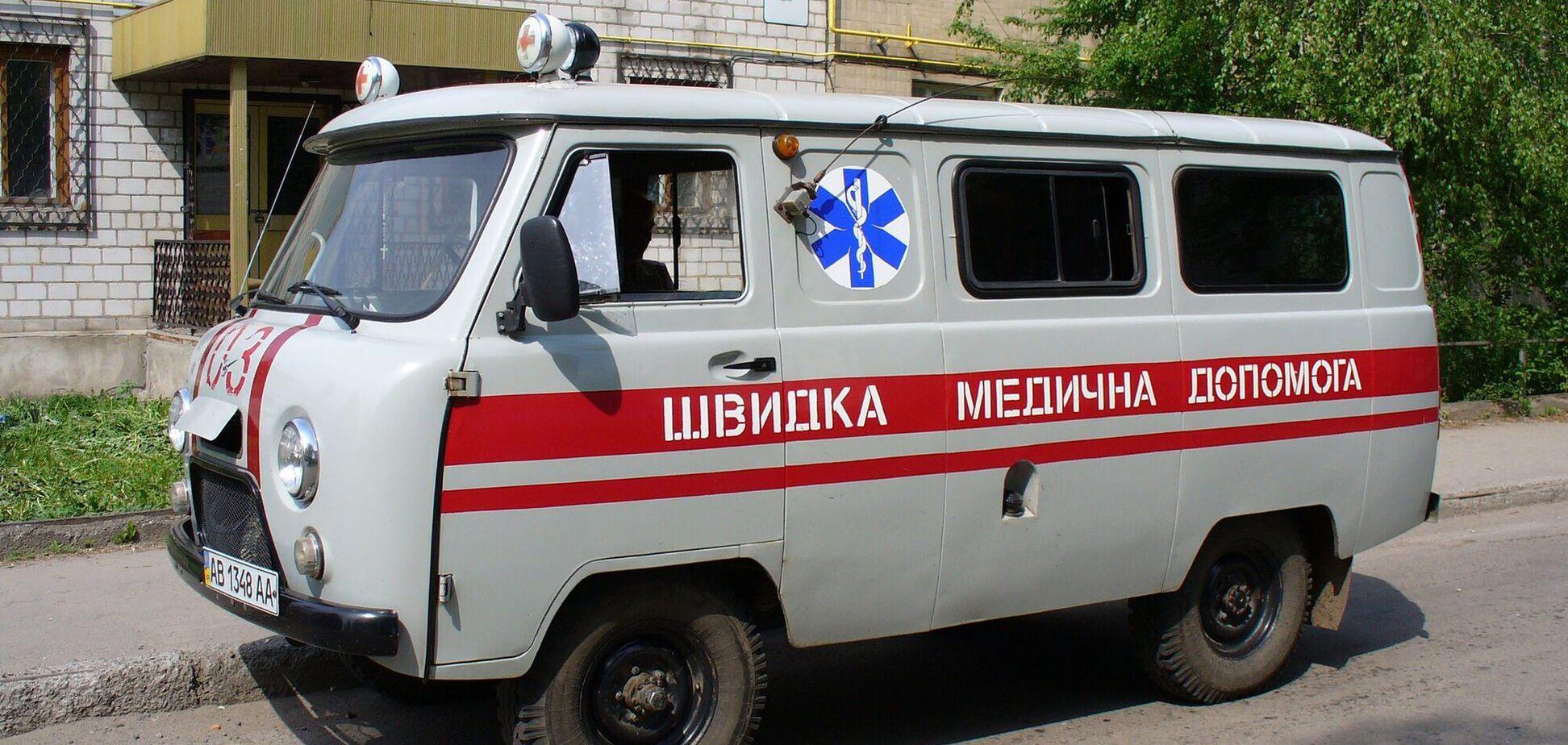 Машина скорой помощи марки УАЗ