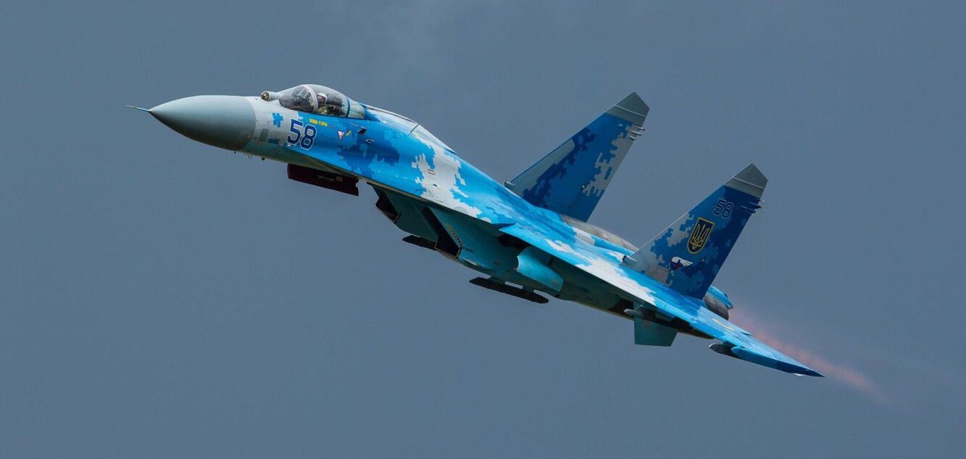 Россияне выдали фото Су-27 ВСУ за свой самолет