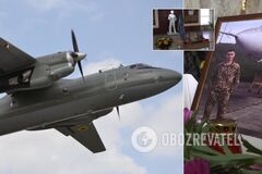 В Чернигове и под Житомиром почтили память погибших курсантов с Ан-26
