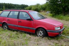 Дизельный VW Passat завелся после 17 лет гниения под открытым небом