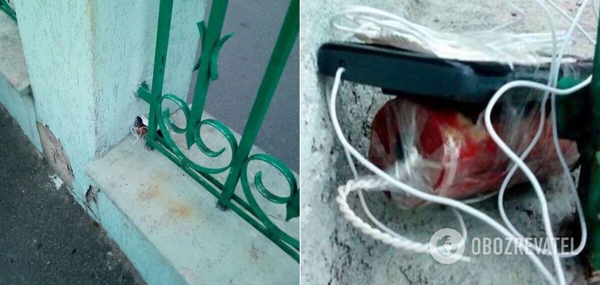 Силовики затримали можливих мінерів офісу в Києві