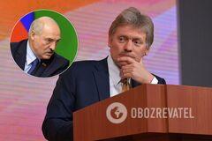 Песков ответил на заявление о фальсификации слов Меркель о Навальном
