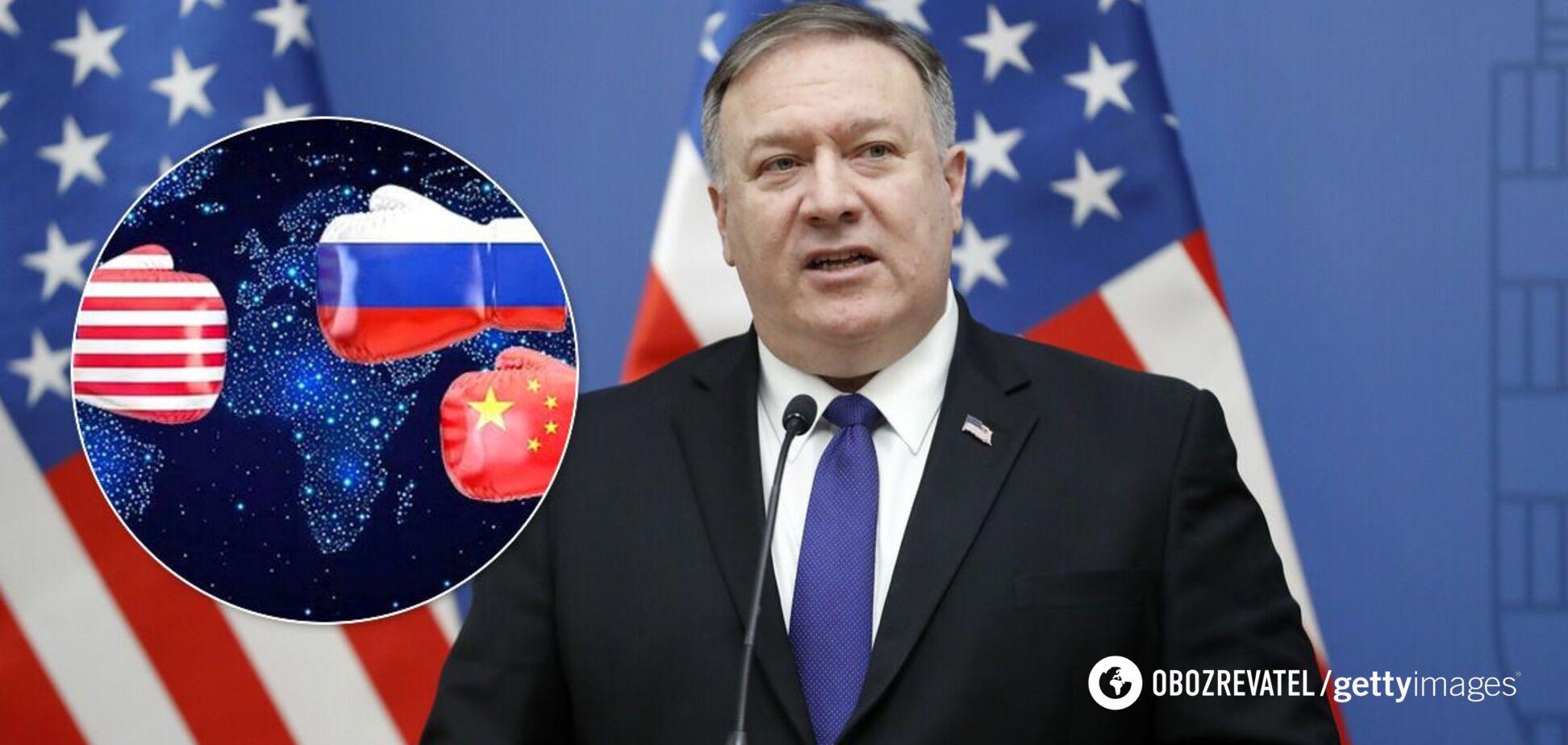 У США заявили, що Китай небезпечніший за Росію